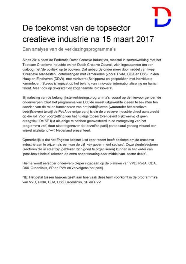 thumbnail of Detoekomstvandecreatieveindustriealstopsectorna15maart2017 (1)