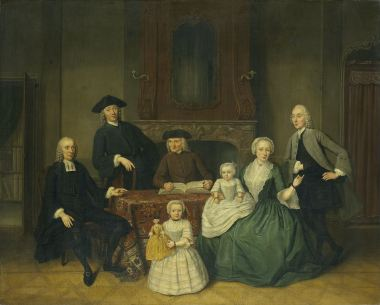 The Brak family, 1752