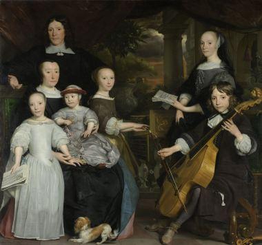 The Leeuw-Hooft family, 1671