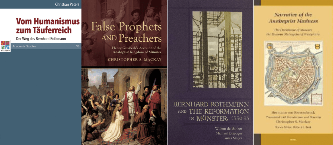 New publications about Ana/baptist Münster