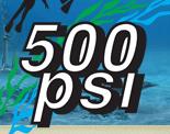 500psi