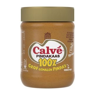 Calvé 100% Pindakaas met nootjes