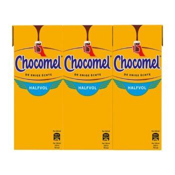Chocomel Chocolademelk Halfvol 6 x 200 ml Multi-pack