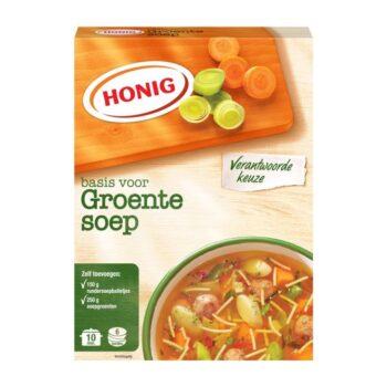 Honig groentesoep