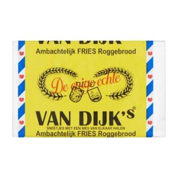 Van Dijk Fries roggebrood gesneden