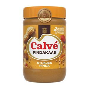 Calvé Pindakaas stukjes pinda 650 gr