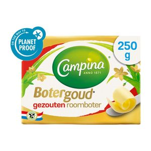 Campina Botergoud gezouten roomboter