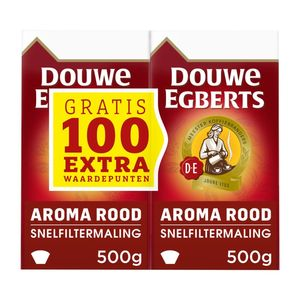 Douwe Egberts Aroma Rood filterkoffie 1000 gr