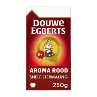 Douwe Egberts Aroma Rood filterkoffie 250 gr