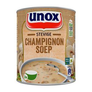 Unox Soep in blik stevige champignonsoep 800ml