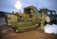 bv206 met 81mm mortar