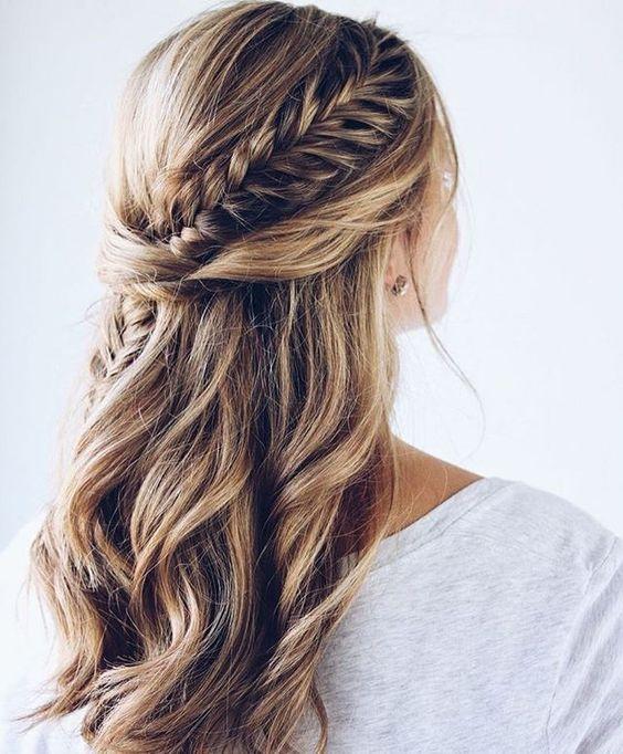 De perfecte hairdo's voor een bruiloft half up 1