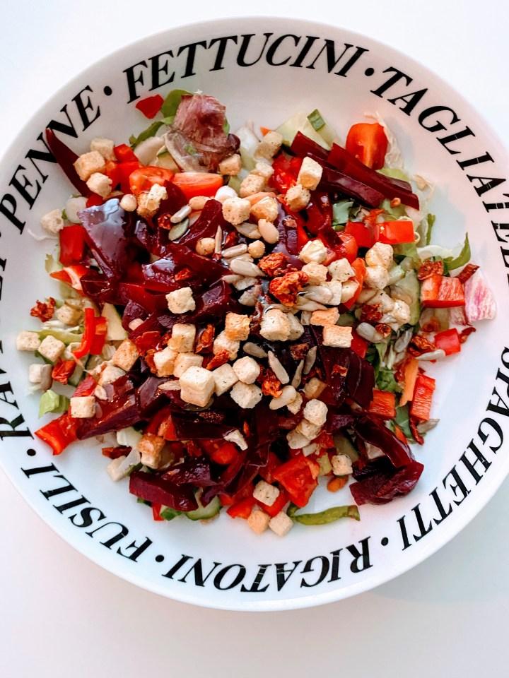 Easy Peasy Sunday Salad