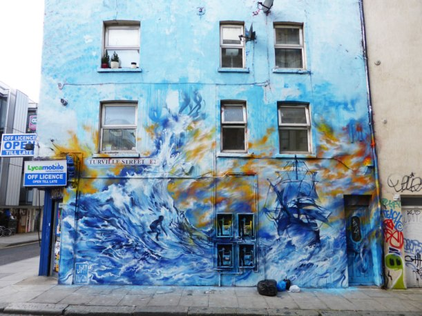 Mural by Jim Vision on Turville Street