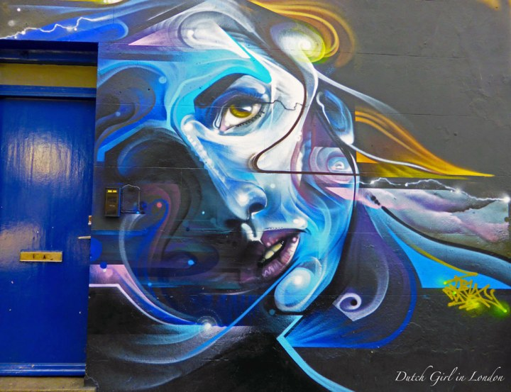futuristic female portrait by Mr Cenz in Camden