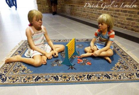 Children Playing Game Duane Hanson Serpentine Gallery London