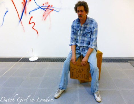 Homeless Person Duane Hanson Serpentine Gallery London