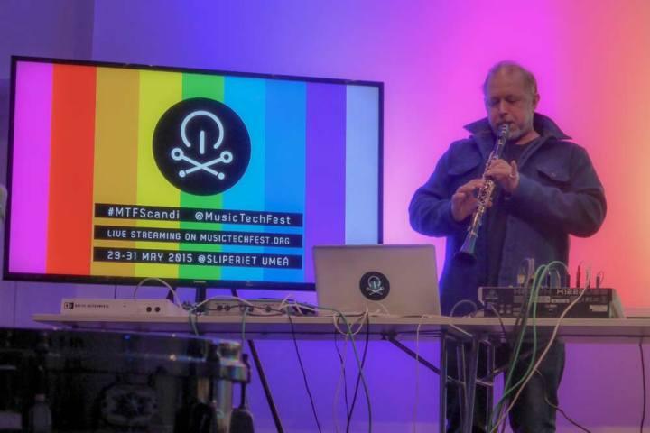 Graham Massey live at Music Tech Fest in Umea, Sweden