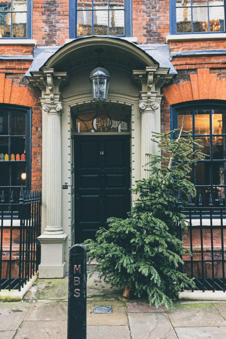 pretty houses in Spitalfields