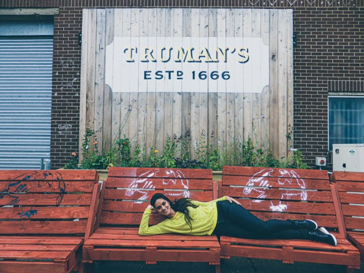 You can visit the new Truman Brewery in Hackney, East London