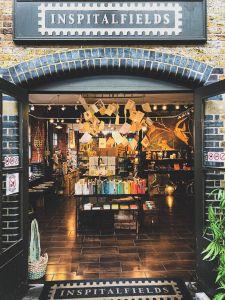 Inspitalfields shop at the Old Spitalfields Market in London