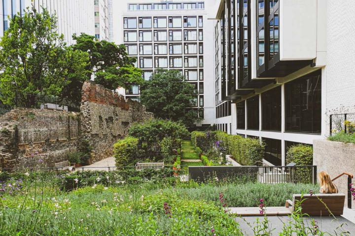 Roman Wall London Barbican