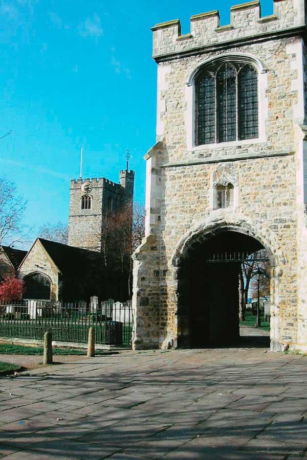 Barking Abbey, London