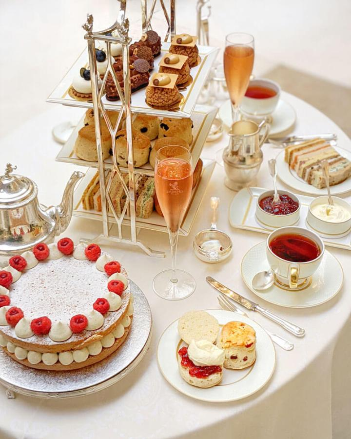 Luxury afternoon tea at The Ritz London