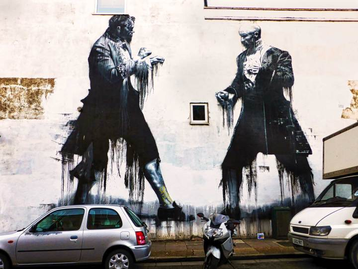 Dulwich Outdoor Gallery: When Street Art Meets Fine Art