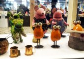 Clangers exhibition at the V&A Museum of Childhood