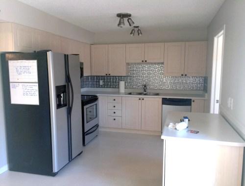 duplex kitchen before shot