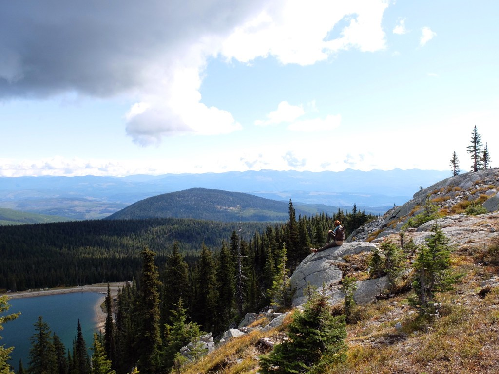 Hiking in Big White Ski Resort - Dutchie Love
