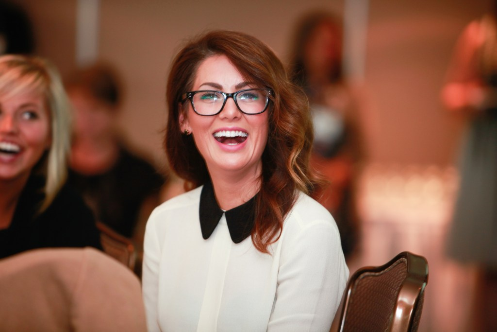 Jillian Harris at BlogPodium 2015
