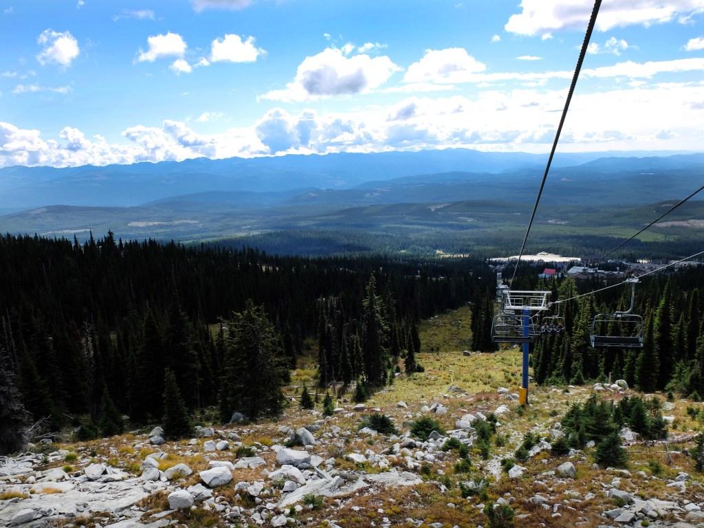 Hiking in Big White Ski Resort | Dutchie Love