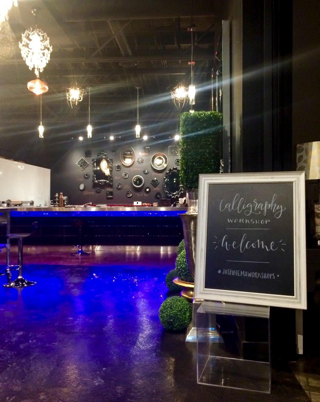 Edmonton Calligraphy Workshop with Justine Ma   Dutchie Love