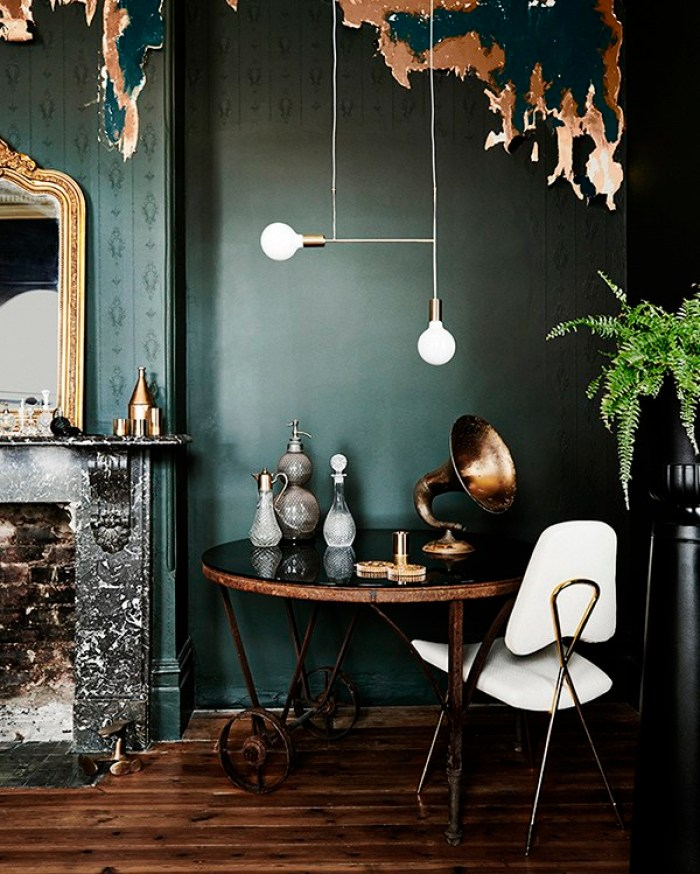 Emerald Green Room Inspiration