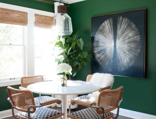 Emerald Green Dining Room Inspiration