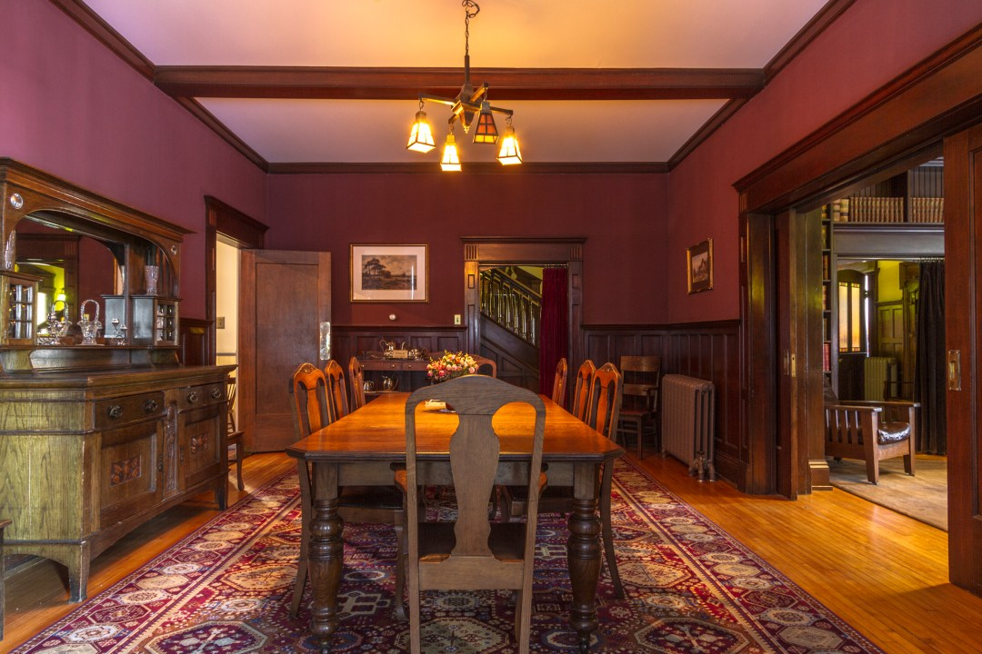 Rutherford House Dining Room | Dutchie Love