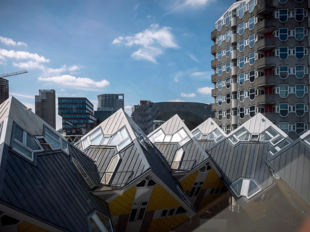 Rotterdam Cube Houses Dutchie Love