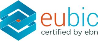 logo eubic quality label business incubation europe