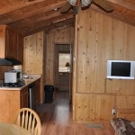 Moose Cabins Kitchen
