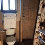 Bathroom toilet shower