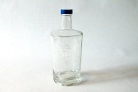 Glass water bottle 0,33l
