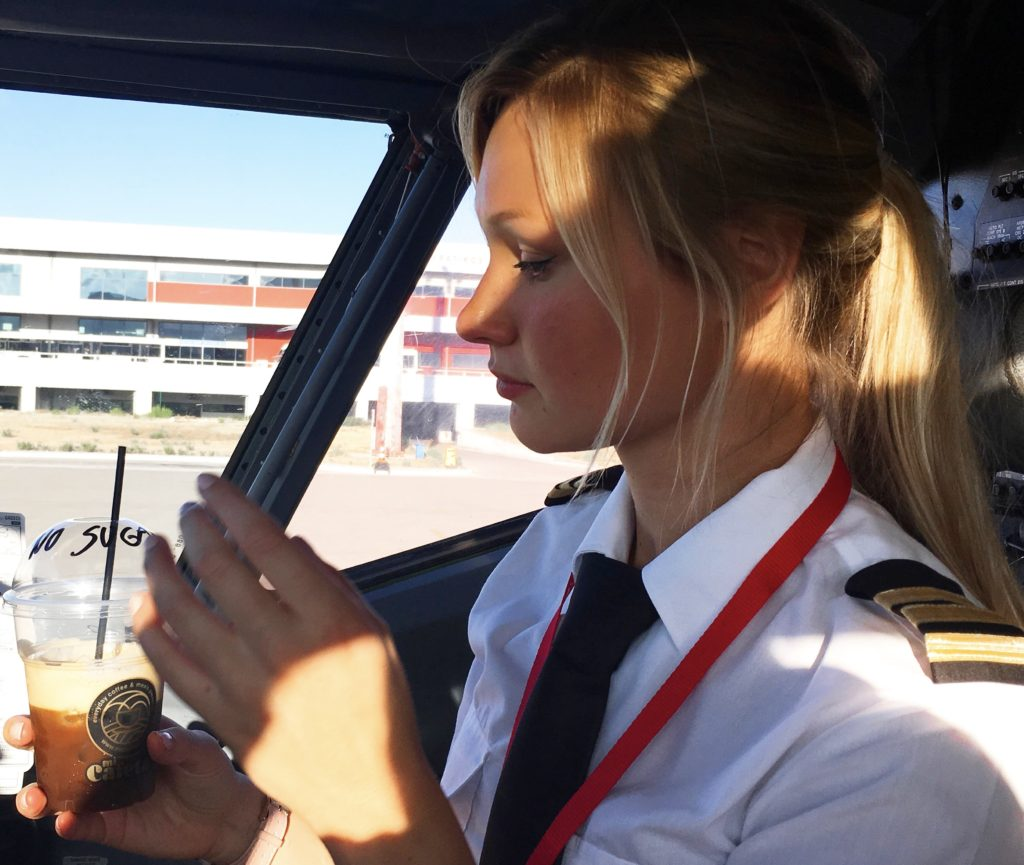 Verona - Dutch Pilot Girl - My new home