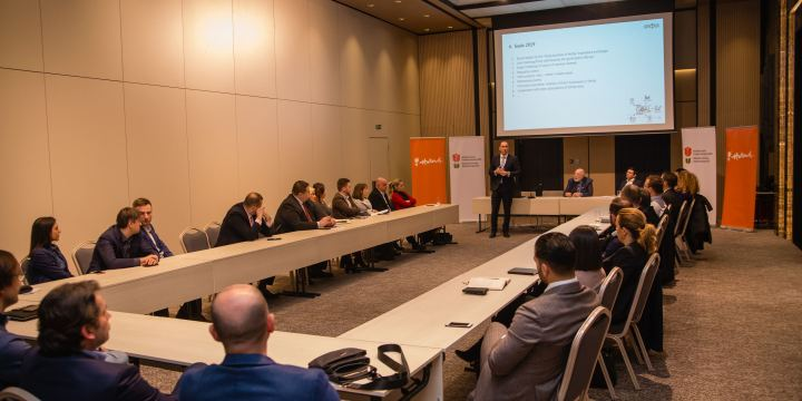 Pictures from the first General Assembly of DSBA