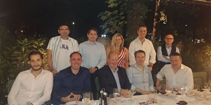 The farewell dinner for the Dutch ambassador