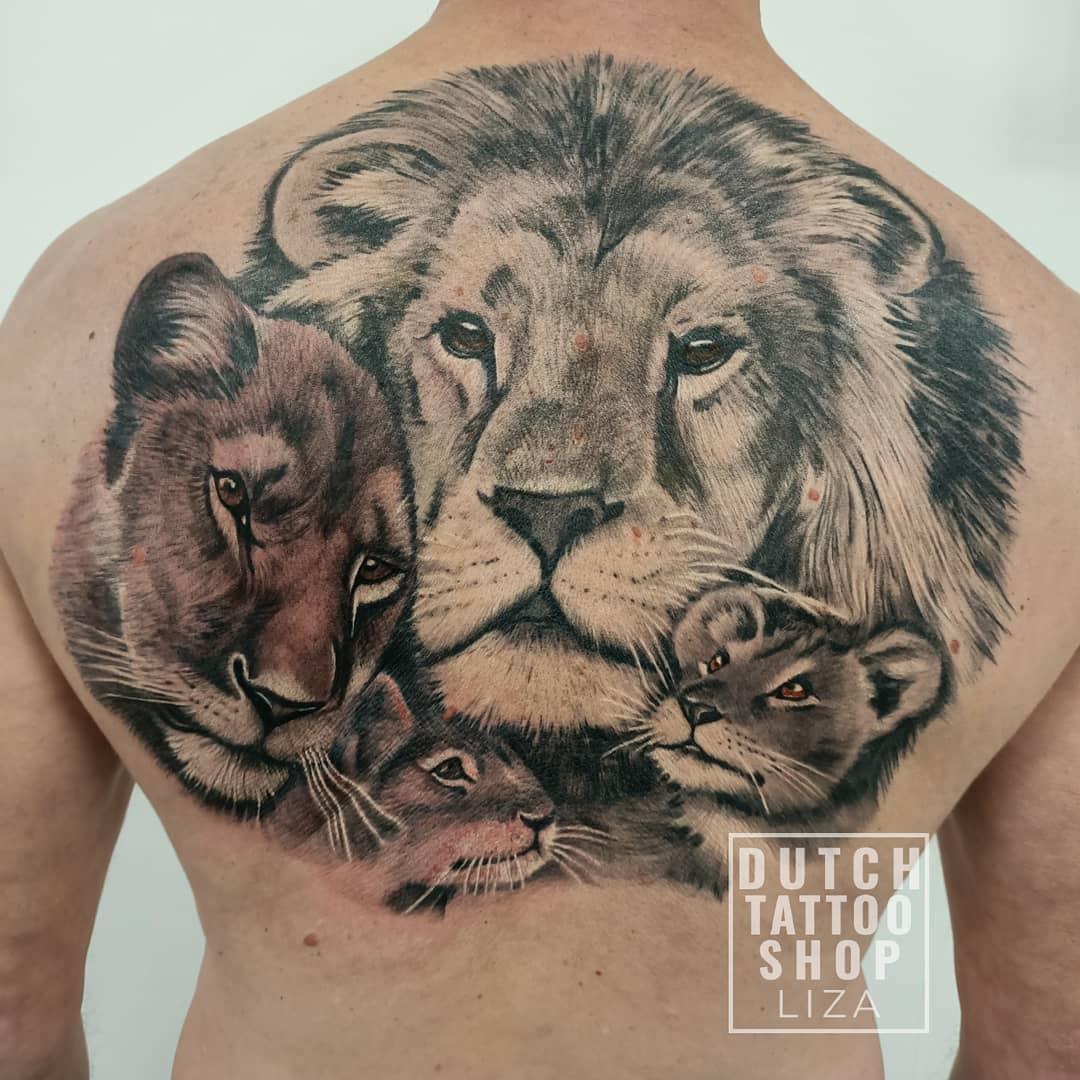 leeuwen-familie-de-leeuw-diamond-painting-rugstuk-tattoo
