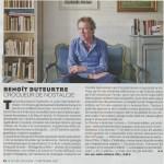 Benoît Duteurtre, Livre pour adultes, Nicolas Ungemuth , Le Figaro magazine, 2 septembre 2016