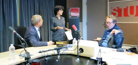 Guy Krivopissko, Christine Amado & Benoît Duteurtre , studio 131, 06 mai 2017