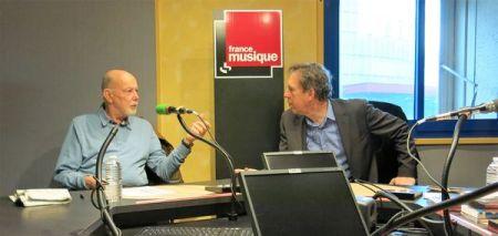 Benoît Duteurtre, Étonnez-moi Benoît, France Musique, Jean-François Kahn & Benoît Duteurtre , studio 132, 07 janvier 2017, photo de Annick Haumier-0